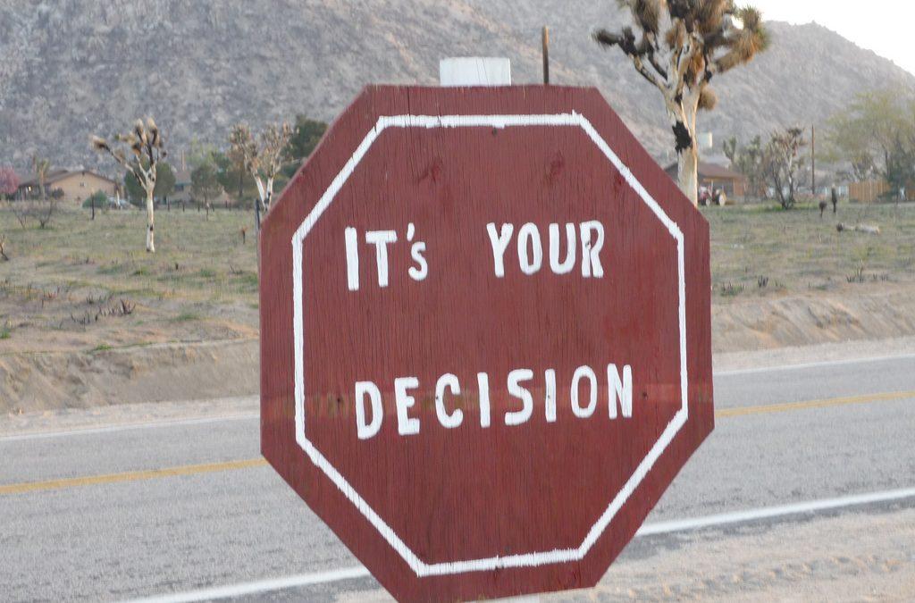 Hvordan træffer I beslutninger?